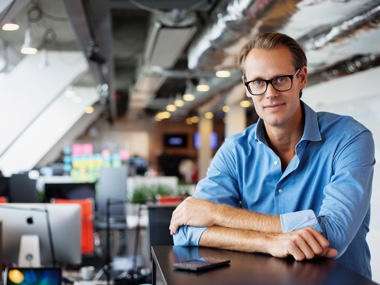 iZettle's founder and CEO Jacob de Geer