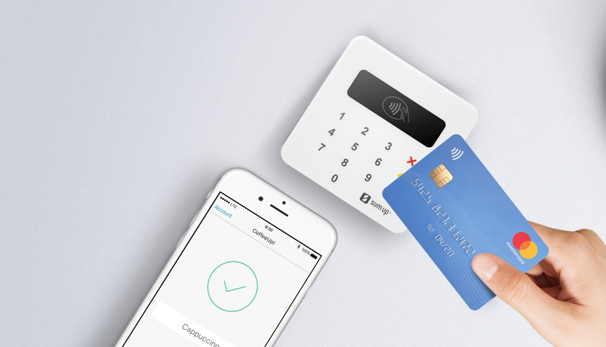 Contactless payment with SumUp Air