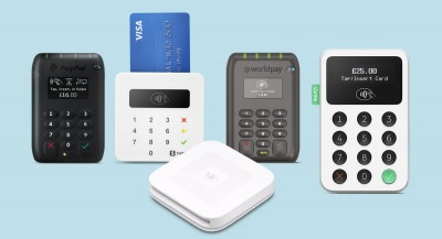 PayPal Here, SumUp Air, Worldpay Reader, iZettle Reader 2 and Square Reader