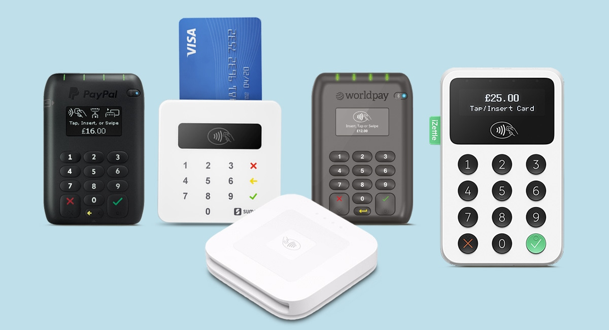 Five best card machines for small businesses in the UK