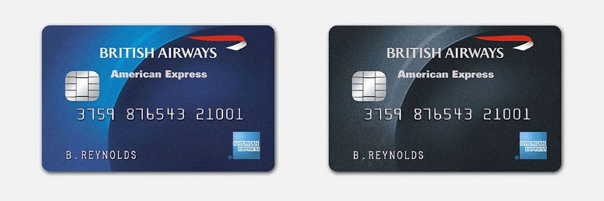 American Express British Airways credit cards