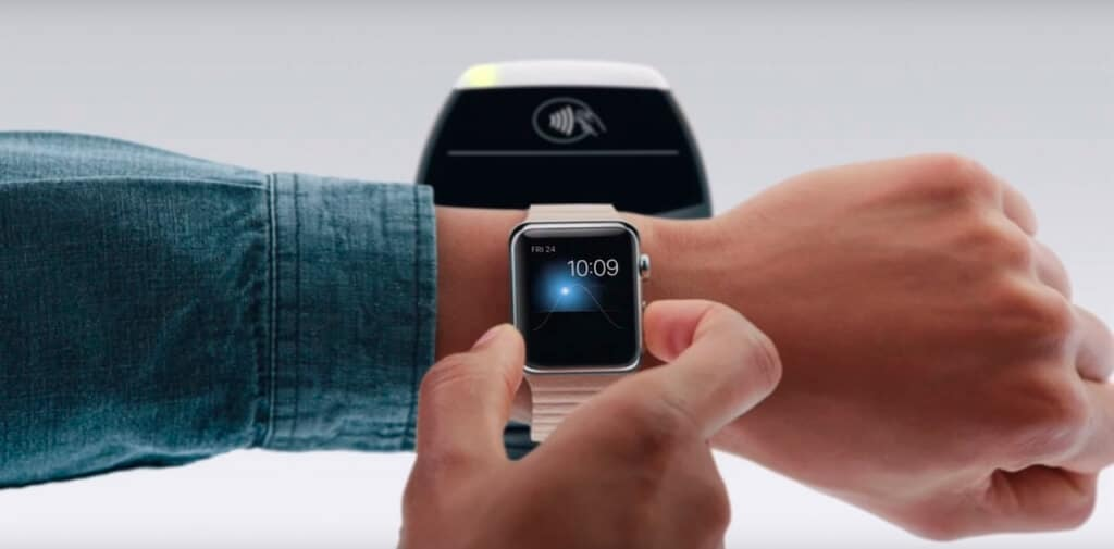 Apple Pay met Apple Watch